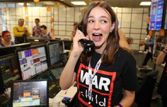 Carey looks excited as she manages to close a deal with one of ICAP's clients by phone . Duke And Duchess, Duchess Of Cambridge, Kate Middleton Prince William, Carey Mulligan, Star Fashion, Charity, Album, Stars, Phone