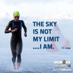 The sky is not my limit...I am.