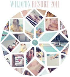 Wildfox lookbook. LOVE the shapes