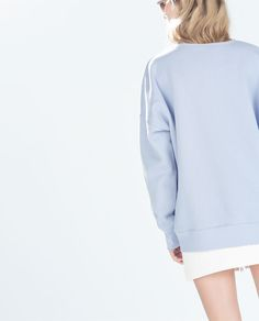 ZARA - TRF - LONG SLEEVE SWEATSHIRT