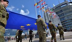 EU army will European Union build military force headquarters Europe defence…
