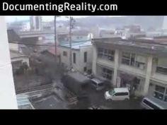 footage tsunami japan