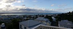 View from our AirBnB stay in Napier