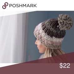 🆕Washington Sq Park Hat ◽️The Washington Sq Park Knit Hat is so cute and soft! Gorgeous neutral color palette of ivory, gray, mauve, teal. Soft and not itchy. Slouchy style. It got cold fast in the city and I wore mine all week! ⛄️ Only 2 left!  ▫️Price is firm 📷 Photos are my own Accessories Hats