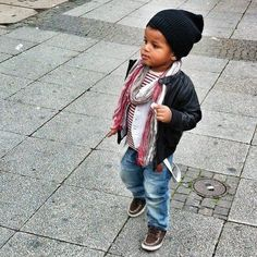 style kid :-) dope kids My little fashionista. Precious Baby, u got swag!!