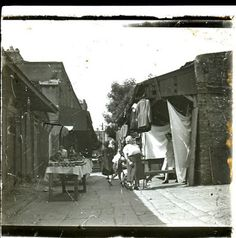 Coles Lane, Off Moore Street Ireland Pictures, Old Pictures, Old Photos, Vintage Photos, Dublin Market, Photo Engraving, Dublin City, Dublin Ireland, Book Of Life