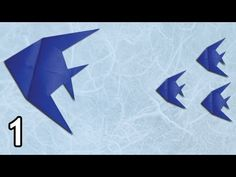 Origami Butterfly Fish (Peter Engel) - Part 1 - YouTube