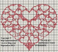 hearts in heart  click on photo to get chart