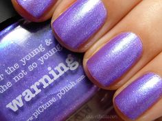 piCture pOlish Warning swatched by Nihrida!  WOW so beautiful!