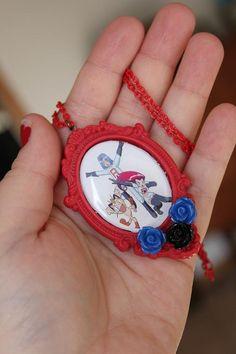 Adorable Team Rocket necklace :)