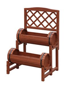 Convenience Concepts 2-Tier Plant Stand, Chinese Fir ** See this great image  : Gardening Tools