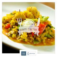 receita | segunda sem carne  Paella Vegetariana:   https://plus.google.com/108722168122402285977/posts/CRPmw7QkHcJ  #segundasemcarne #useahimsa #sejaahimsa #vegano #organicshoes #sustentavel #govegan