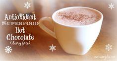 Antioxidant Superfood Hot Chocolate (Paleo) Coconut milk, turmeric, cinnamon, ginger
