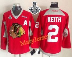Only $34.88 please email me at maryjerseyelway@gmail.com for Blackhawks 2 Duncan Keith Red Practice 2015 Stanley Cup Stitched NHL Jersey