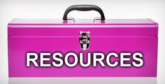 A toolbox with resources