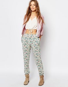 2a3514ce0221c5 Vanessa Bruno Athe Trousers in Moroccan Print at asos.com