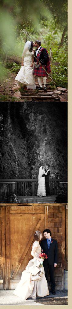 Romantic Utah Mountain Wedding and Reception Venue