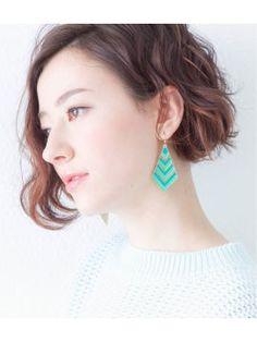 ゆるふわが可愛い♡ショートパーマのヘアカタログ【髪型画像】 - NAVER まとめ
