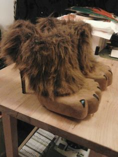 modify shoes to be lion shoes for wizard of oz costume maybe we can use these minus the heels