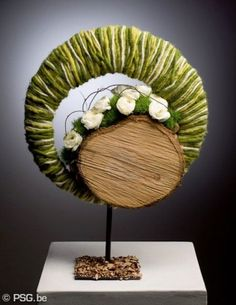 A spring arrangement of Jessica Gallo Contemporary Flower Arrangements, Creative Flower Arrangements, Floral Arrangements, Deco Floral, Arte Floral, Floral Design, Flower Show, Flower Art, Art Floral Noel