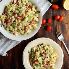 ¿Estás buscando una receta saludable y ligera? @cuk_it nos recomienda esta ensalada de fideos que podrás comer hasta como plato principal…