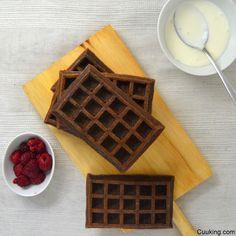 Gofres de chocolate al horno con moldes de LIDL. Videoreceta | Cuuking! Recetas de cocina