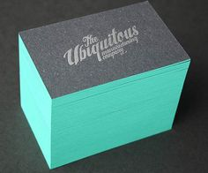 site with great business card inspiration