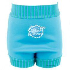 Ble badebukser fra Splash About® - Turquoise Blue Lagoon