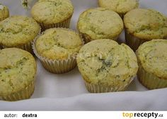 Citrónové muffiny s mákem recept - TopRecepty.cz Cooker, Cupcakes, Breakfast, Recipes, Food, Pizza, Lemon, Morning Coffee, Cupcake Cakes
