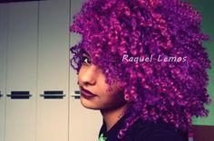Afro purple