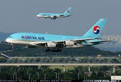 A380 ICN LANDING