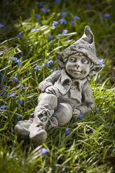 Colin gnome boy garden statue