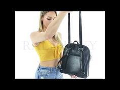 Roomy interior: The Brielle bag has an impressive roomy space, the main zipper opens wide enough to access your stuff easily. The inside is separated with an. Backpack Purse, Leather Backpack, Fashion Backpack, Crossbody Bag, Best Work Bag, Convertible Backpack, Unique Bags, Best Bags, Bag Organization
