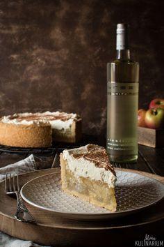 Apfel-Wein-Torte - der beste Apfelkuchen, den es gibt {Werbung} BREE Wein