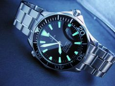 Omega Seamaster Professional lume