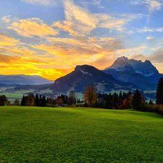 Wilder Kaiser, Kirchen, Mountains, Blog, Gadgets, Nature, Travel, November, Heavens