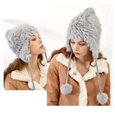 b5f2ee747de rabbit fur hat .more information and better price