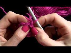 stap voor stap effen bloemetje haken - YouTube Crochet Simple, Diy Crochet, Crochet Hooks, Crochet Flowers, Crochet Videos, Crochet For Beginners, Chrochet, Craft Patterns, Diy Projects To Try