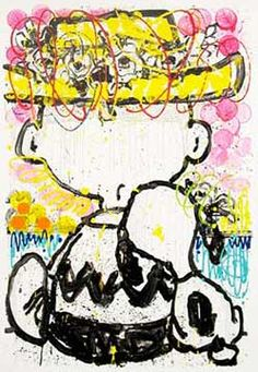 Snoopy & Charlie Brown by Tom Everhart