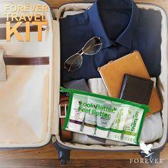 Vigyél magaddal egy kis Forevert bármikor és bárhova, amikor csak utazol!  Utazásaid során mostantól 5 kedvenc terméked elkísér mindenhová kényelmes, utazásra szabott méretben. A csomagot nyugodtan felviheted a repülőre is.  MOST! Különleges akció, lépj velünk kapcsolatba! http://360000339313.fbo.foreverliving.com/page/news/news-items/travel-kit-/hun/hu Segítsünk? gaboka@flp.com  Vedd meg: https://www.flpshop.hu/customers/recommend/load?id=ZmxwXzQ3MTk0