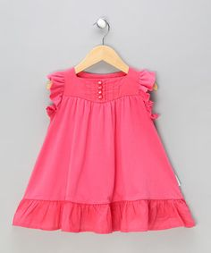 rose ruffled jersey baby dress baby girl dress designs