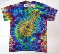 Guitar Tie Dye Shirt Example 2 Tie Dye Shirts 7a69ad1b7