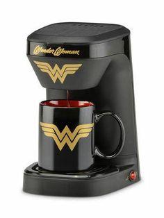 """Wonder Woman"" Coffee Maker"