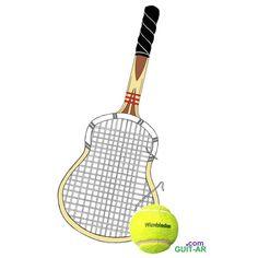 Vamos Garbiñe!!!  Go for it 🎾by Juan Ponte @garbimuguruza   #wimbledon #wimbledon2017 #tennis #tennisracket #dunlopmaxply #tennisball #tenniscourt #guitar #guitarra #guitarart #guitarbyjuanponte #illustration  #drawing #sketch  #surrealguitar #fender #stratocaster #fendersofinstagram #fendercustomshop #hardrockcafe #juanponte