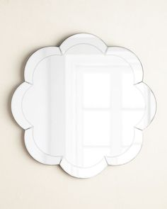9. Eva Scalloped Mirror, $225 + 20% off