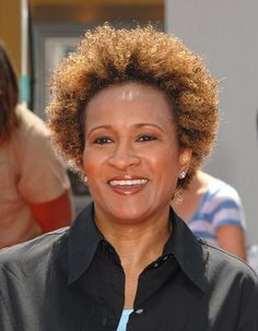 Wanda Sykes ..she's a hoot on new adventures of old Christine