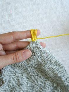 Tassel: Tiny Attached Tassel | Purl Soho