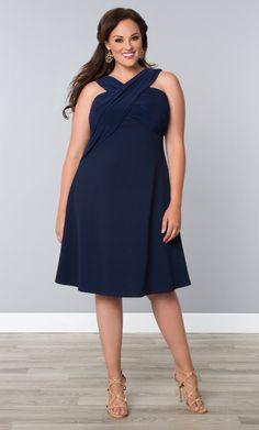 Check out the deal on Marina Love Dress at Kiyonna Clothing