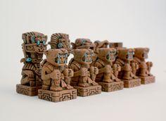 Aztec Chess Set