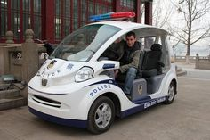 2011 Electric Police Vehicle in Suzhou China  ★。☆。JpM ENTERTAINMENT ☆。★。
